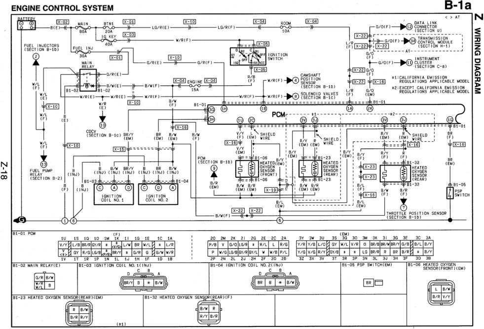 2000 mazda miata engine wiring harness   38 wiring diagram